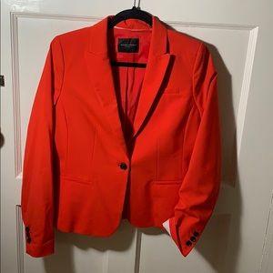 Banana Republic Red Women's Suit Blazer
